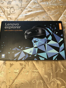 Lenovo Explorer WMR Headset with Motion Controllers