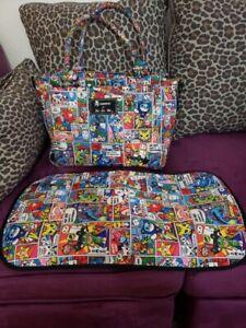 Ju Ju Be Jujube Be Sporty Tokidoki Super Toki Diaper Bag And Changing Pad