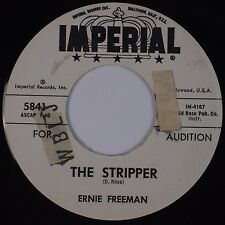 ERNIE FREEMAN: The Stripper / I Hear You Knocking USA IMPERIAL DJ Promo 45