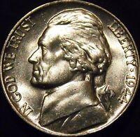 1944-P Jefferson Nickel Choice/Gem BU Uncirculated