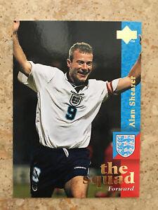 1997 Upper Deck England Soccer Card - ALAN SHEARER Mint