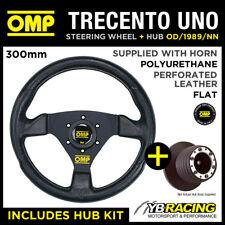 OMP TRECENTO UNO 300mm STEERING WHEEL & BOSS for BMW MINI ONE / COOPER / S 02-06