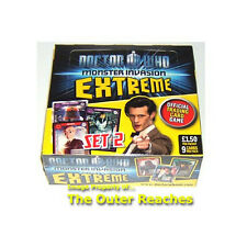 Doctor DR.WHO Monster Invasion EXTREME Trading Card Game 24 Booster Pack BOX