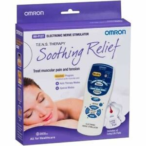 Omron Electronic Nerve Stimulator (HV-F127) TENS Therapy for Muscle Pain Tension