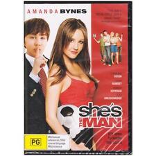 DVD SHE'S THE MAN Amanda Bynes Channing Tatum Comedy Romance Sport REGION 4 [BNS
