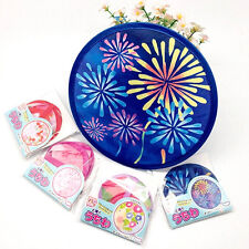 Creative Hand Fan Portable Japanese Style Multi Functional Round Fan Kids Toy