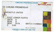 Ticket - Chelsea v Newcastle 27.10.97