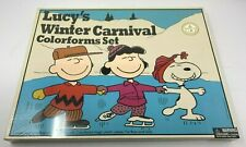 Colorforms Classic Lucy's Winter Carnival Coloroms Set with Snoopy & Charlie
