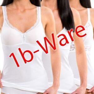 3er Pack Damen BH-Hemden mit kleinen Fehlern weich Dank Modal HERMKO 4417580