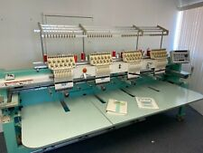 Tajima Commercial 4 head Embroidery Machine - Tmfxii-C1204
