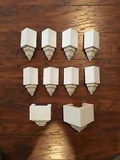 Crown Molding Corners For Up To 3� Transition (8 Pack) + Free Middle Block
