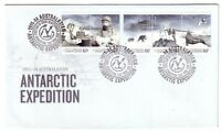 "2013 FDC AAT. 1911-14 Australasian Antarctic Expedition. Pict.FDI  ""KINGSTON"""