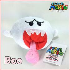 "New Super Mario Bros 2 Plush Boo Ghost Soft Toy Stuffed Animal Cuddly Doll 5"""