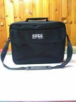 Sega Game Gear Official Black Carrying Case Travel Bag with Shoulder Strap OEM