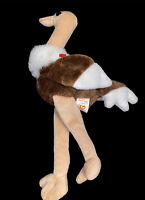 Original Ty Beanie Baby STRETCH The Ostrich PVC Pellets - Tag missing