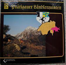 Prätigauer Ländlerquintett  - Swiss Folk LP F.SEALED