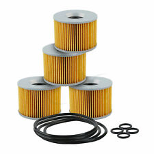 4 PCS Oil Filter For CB1000C CB1100F CB1100R CB350F CB400F CB500K CB550 CB650