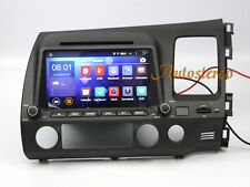 Android 7.1 Quad Car Nav unit DVD Player Radio Stereo For Honda Civic 2006-2011
