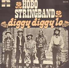 "HOBO STRING BAND ‎– Diggy Diggy Lo (1976 NEDERPOP/COUNTRY SINGLE 7"" HOLLAND)"