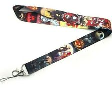NIGHTMARE BEFORE CHRISTMAS Lanyard Mobile Phone ID Card Clip Keychain Car Key