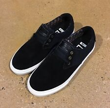 Lakai MJ Size 6.5 US Black Suede Marc Johnson Pro Model Skate Shoes Deadstock