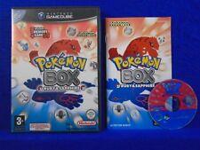 gamecube POKEMON BOX Ruby & And Sapphire Pokemon Organiser Nintendo PAL UK