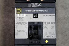 (Used) Square D Fc Fcb Fcb34030 3 Pole 480V 30 Amp Circuit Breaker Gray