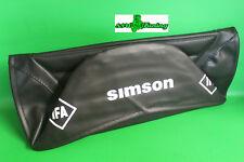 Sitzbezug schwarz strukturiert Simson S50 S51