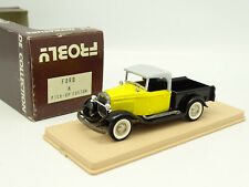 Frobly 1/43 - Ford A Pick Up Custom Jaune et Noir