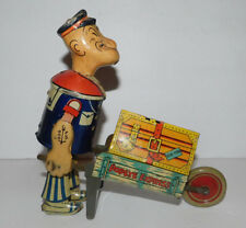 VERY NEAT VINTAGE TIN WIND UP MARX POPEYE EXPRESS