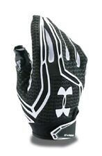 Under Armour UA Swarm Receiver Football Gloves 1271170-001 Large Black NEW $45