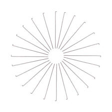200pcs 304 Stainless Steel Flat Head Pins Smooth 21 Gauge Drilled Findings 65mm