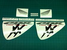 CBR 1100 XX Super Blackbird Replacement decals sticker kit