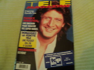 TELE MAGAZINE N°1975 - 1993 Patrick SEBASTIEN Michael JACKSON Robert CHARLEBOIS