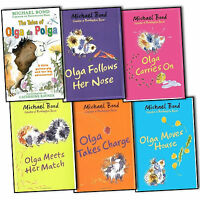 Michael Bond Olga Da Polga 6 Books Collection Set New