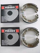 FERODO (2 COPPIE) GANASCE FRENO ANT-POST PIAGGIOVESPA 200 PX ARCOBALENO 1983 >