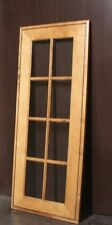 "Kraftmaid Kitchen Praline w/Onix Glaze Maple Glass Door 4 Wall Cabinet 15""x36"""