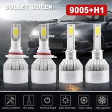 9005+H1 Combo for 2002-2006 Nissan Altima Hi Low Beam LED Headlight Bulbs Kit