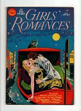 Girls' Romances #8 VINTAGE DC Comic Young Love Stories Golden Age 10c