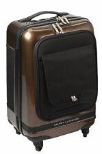 """Numinous London Smart Executive 20"""" Cabin Luggage Case Gold Brush"""