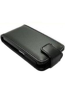 Nokia N900 Leather Flip Case (Vertical) - Black or Pink