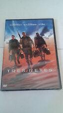 "DVD ""TRES REYES"" PRECINTADA DAVID O. RUSSELL GEORGE CLOONEY MARK WAHLBERG"