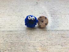 Earrings Cookie Monster Handmade Cute Birthday Gift Cute