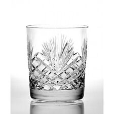 Whisky Tumbler Large 24% Lead Zawiercie Crystal Fully Cut DishWasher Safe 104MJ