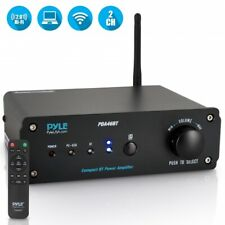 Pyle PDA46BT 2 Ch. Pro Audio 100W  Bluetooth Audio Stereo Amplifier Receiver