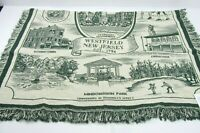Westfield NJ Map Points Interest Throw Blanket New Simply Home Decor Afghan