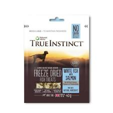 Natures Menu True Instinct Freeze Dried Fish Treats for Dogs 40g