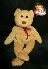 Ty Beanie Baby Curly the  Bear DOB April 12, 1996 MWMT