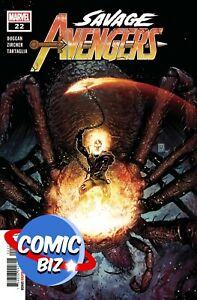 SAVAGE AVENGERS #22 (2021) 1ST PRINTING GIANGIORDANO MAIN COVER MARVEL COMICS
