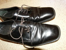 DURBAN  Men's  Leather   Shoes - Sz. 42  Made in Italy